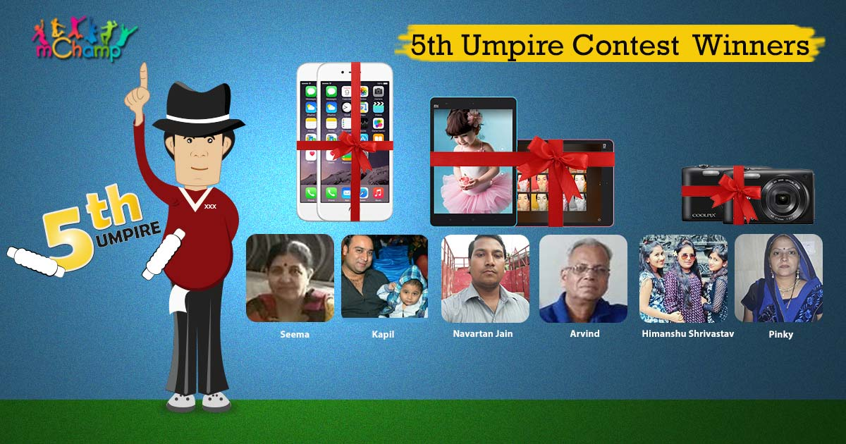 mChamp 5th Umpire Contest